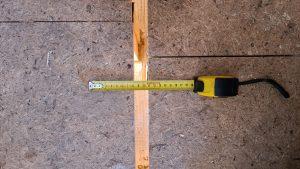 Mezera mezi jednotlivými poddimenzovanými podlahami od společnosti Modul-Leg®